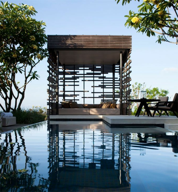Gartenpavillon Holz Rechteckig ~ Gartenpavillon – Luxus oder eine ...