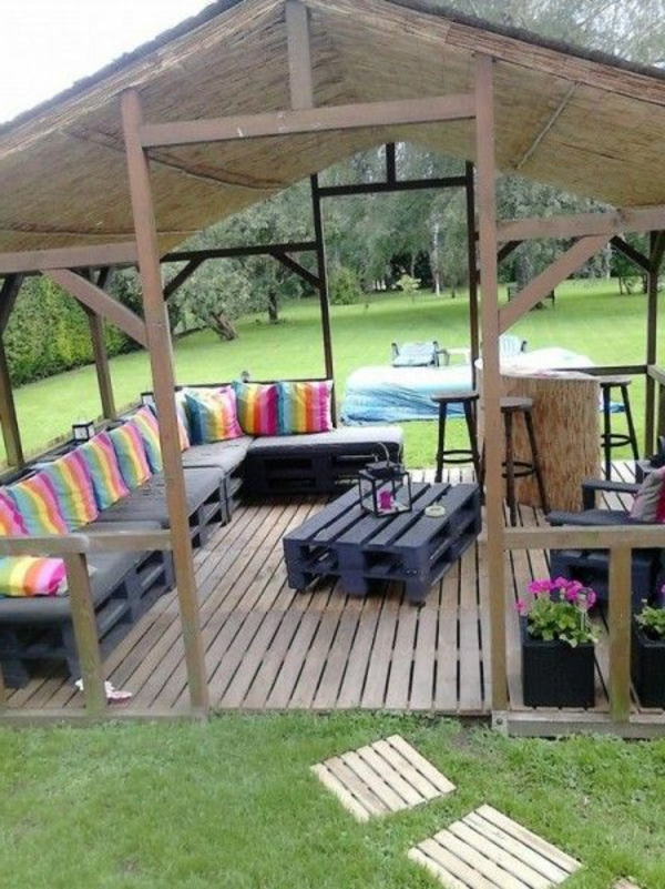 gartenpavillon luxus oder eine selbstverst ndlichkeit. Black Bedroom Furniture Sets. Home Design Ideas