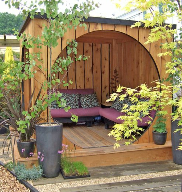 der gartenpavillon luxus oder selbstverst ndlichkeit. Black Bedroom Furniture Sets. Home Design Ideas