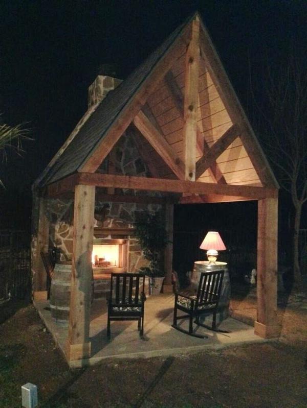 Der gartenpavillon luxus oder selbstverst ndlichkeit for Gartengestaltung rustikal