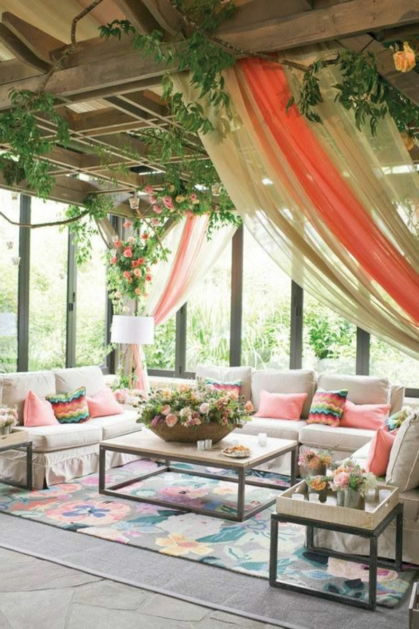 gartenpavillon wintergarten sitzecke