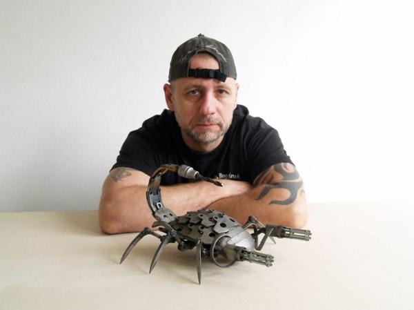 motorradteile skorpion designer