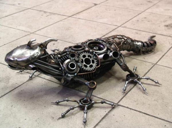 gebrauchte motorradteile eidechse metallen