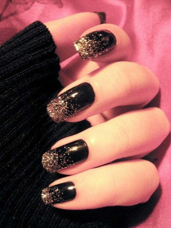gelnagel muster fr die adventszeit und weihnachten - Gel Fingernagel Muster