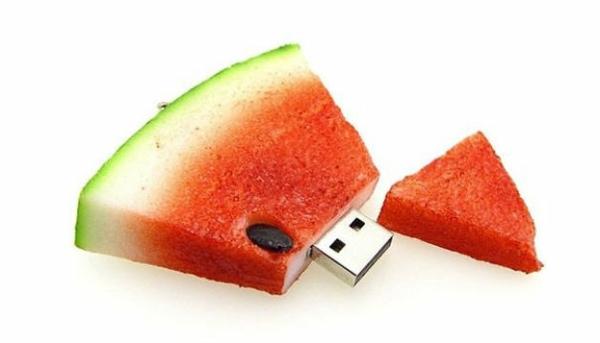 geschenkideen flash speicher essen nahrung wassermelone