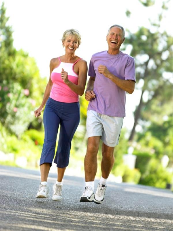 bleiben langes leben sportaktivität zusammen