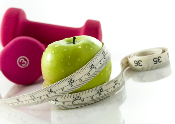 diät halten und sport treiben