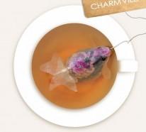 Goldfische als Teebeutel – eine innovative Art den Tee zu genießen