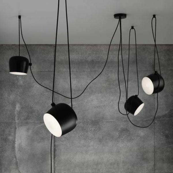 höhenverstellbare pendelleuchte hängeleuchten esstisch schwarz