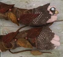 Blätter Stricken Anleitung handschuhe stricken originelle und ausgefallene ideen