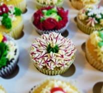 Herzhafte Muffins – zauberhafte Cupcakes mit Blumen
