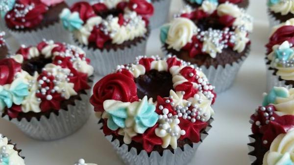 herzhafte cupcakes rot weiß blau