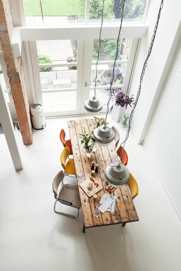 Esszimmer Rustikal Modern : holzmöbel esszimmer landhausstil retro ...