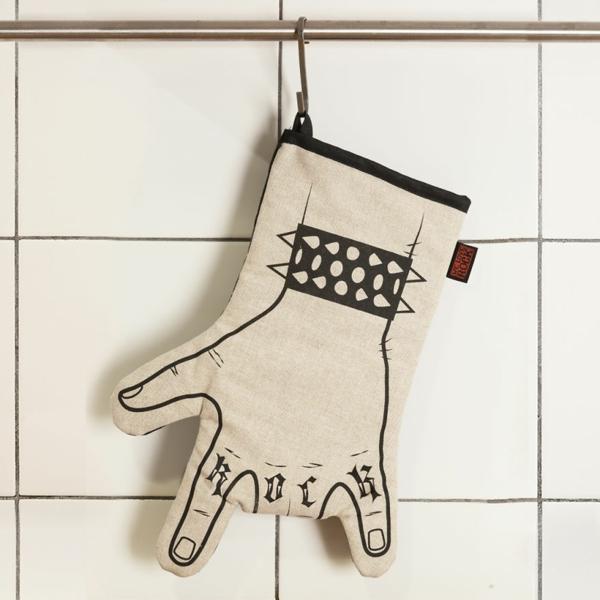 ideen verrückte geschenke kochen handschuh