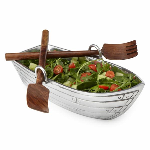 ideen verrückte geschenke salat