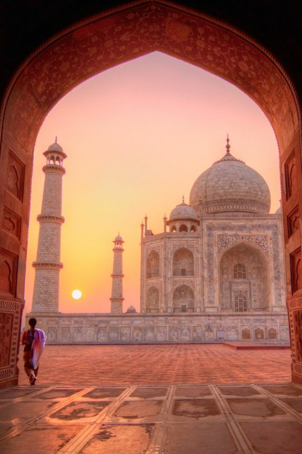 indienreise taj mahal besuchen reisen nach indien