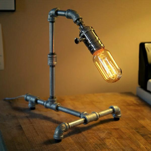Industrial Style Selber Machen : industriallampen Industrial Design Möbel stehlampe selber bauen