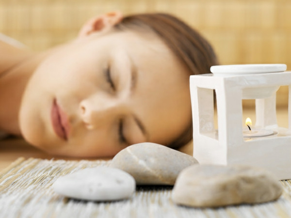 körper entgiften sauna aromatherapie