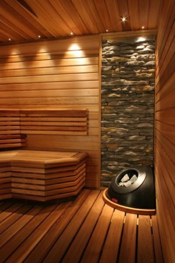 körper entgiften sauna natursteine
