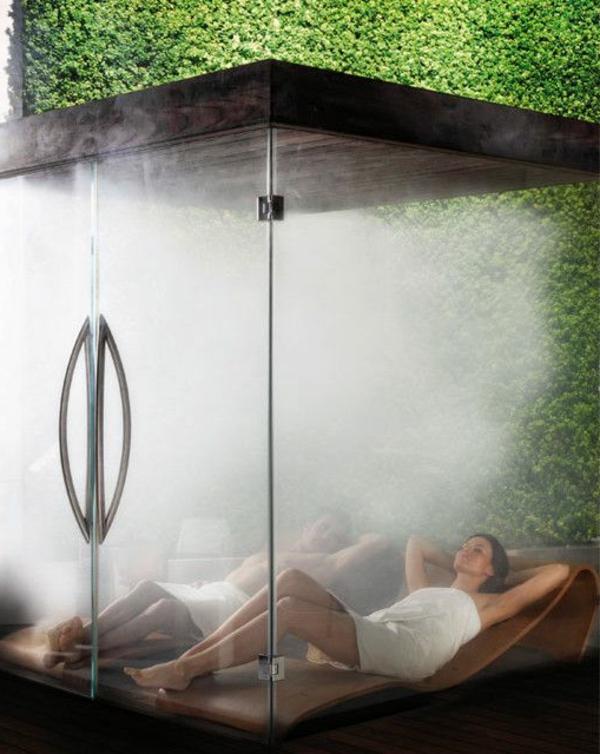 körper entgiften sauna romantisch