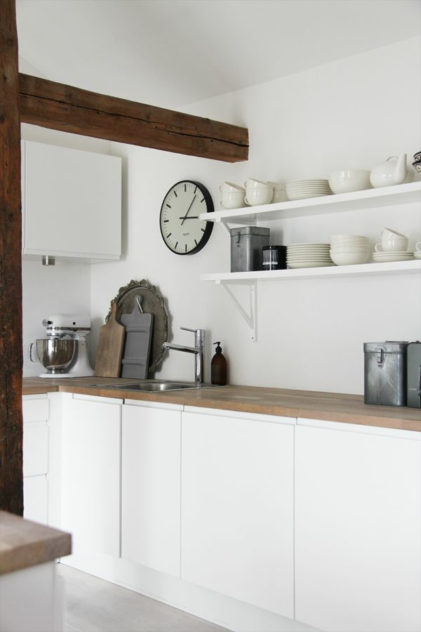 moderne k chenuhren wanduhren mit und ohne timer. Black Bedroom Furniture Sets. Home Design Ideas