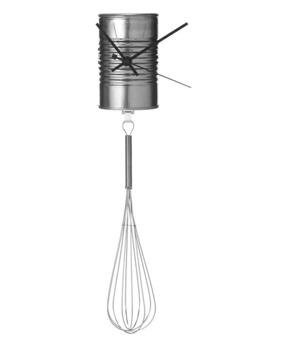 küchenwanduhren rühren diy metall