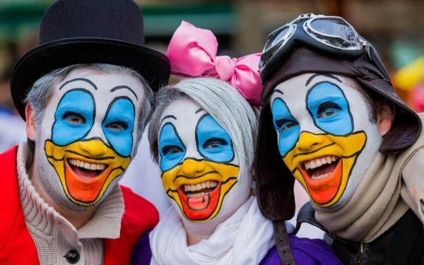 karneval 2015 köln donald duck