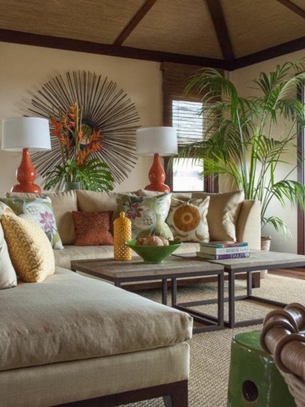 kentia-palme -exotisch und populär, Wohnzimmer ideen