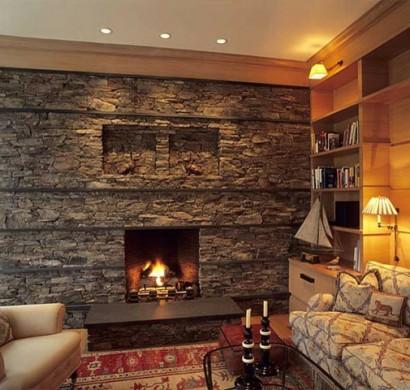 Kunststein wandverkleidung vorteile und wissenswertes - Wandsteine wohnzimmer ...