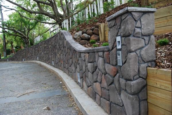 kunststein wandverkleidung außenmauer