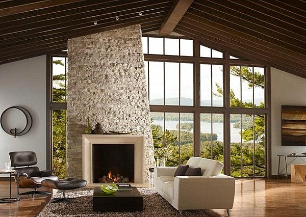 wandverkleidung kamin die neuesten innenarchitekturideen. Black Bedroom Furniture Sets. Home Design Ideas