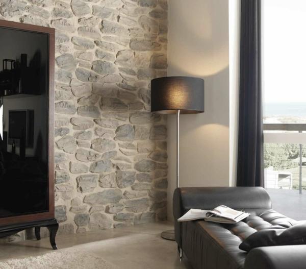 Kunststein wandverkleidung vorteile und wissenswertes - Wandverkleidung wohnzimmer ...