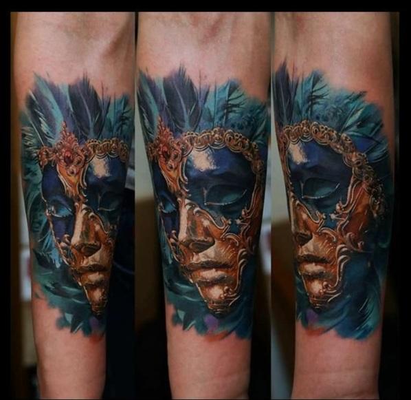 kunstvoll best vorlagen tattoo maske