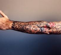 1001 Oberarm Und Unterarm Tattoo Ideen Vorlagen