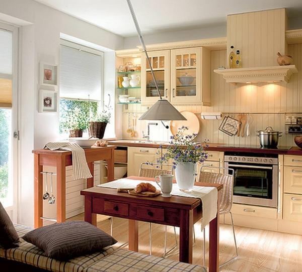 Landhausm bel 30 einrichtungsideen im landhausstil for Cute country kitchen ideas