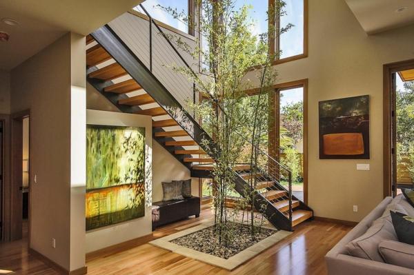 luxus fertighäuser von innen bambus