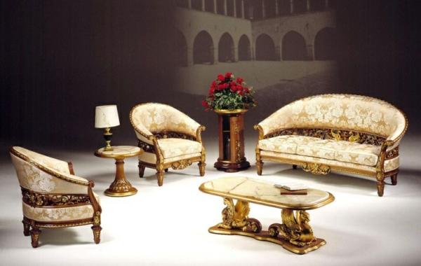 italienische stilm bel 50 moderne und klassische polsterm bel. Black Bedroom Furniture Sets. Home Design Ideas