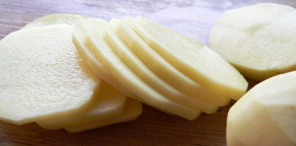 make-up Naturkosmetik selber machen kartoffel