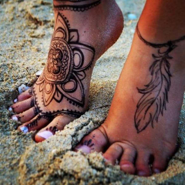 Mandala Tattoo 33 Antike Vorlagen Und Designs Als Inspiration