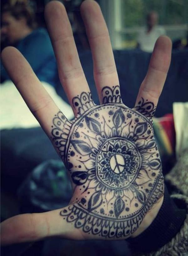 mandala tattoo lotus mandala hand