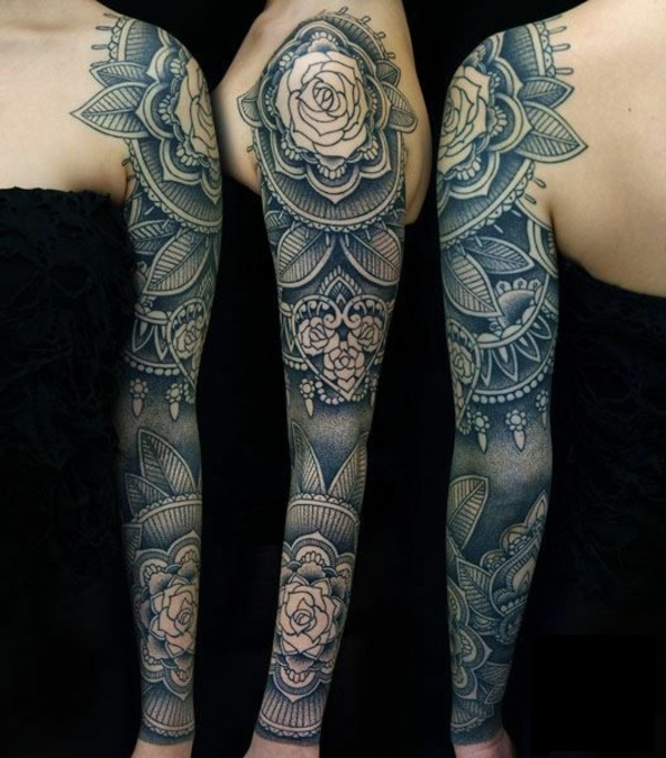 mandala tattoo mandala design ärmel