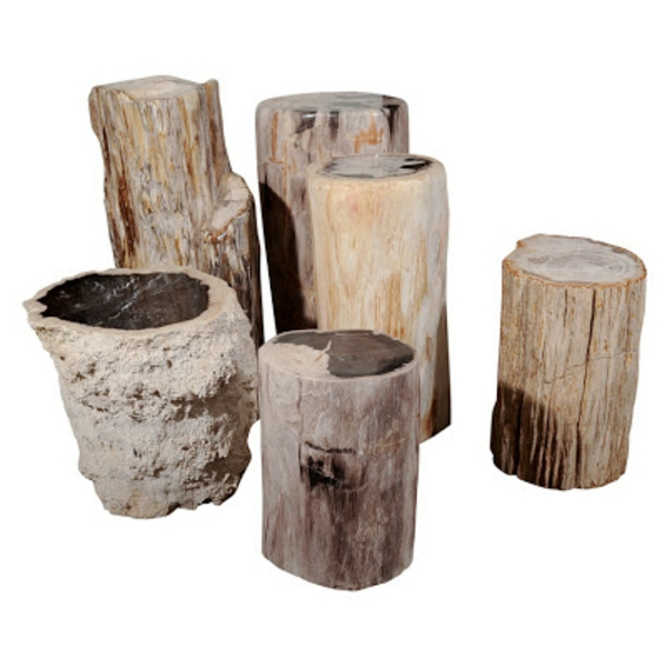 massivholz Couchtische aus Baumstamm größe