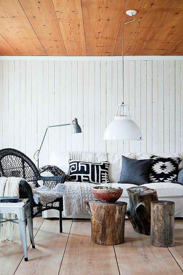 Beautiful Massivholz Couchtische Urban Baumstamm Hngelampe Wei With  Baumstamm Tisch Selber Machen