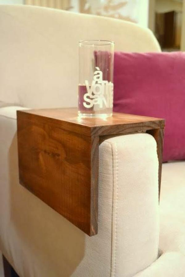 massivholz couchtisch beisteltisch wohnzimmer möbel sofa armlehne