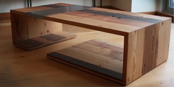 massivholz couchtisch naturholzmöbel wohnzimmer möbel