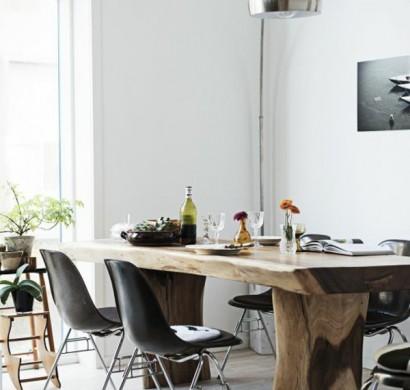 esstisch rustikal und dessen platz im l ndlichen esszimmer. Black Bedroom Furniture Sets. Home Design Ideas