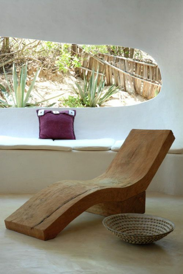 massivmöbel massivholz naturholz möbel liege