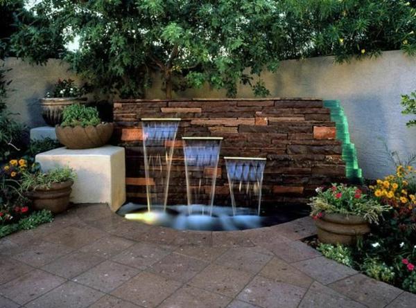 Mein Schöner Garten Dekorativ Wasserfall 100 Gartengestaltungsideen Und  Gartentipps Für Anfänger ...