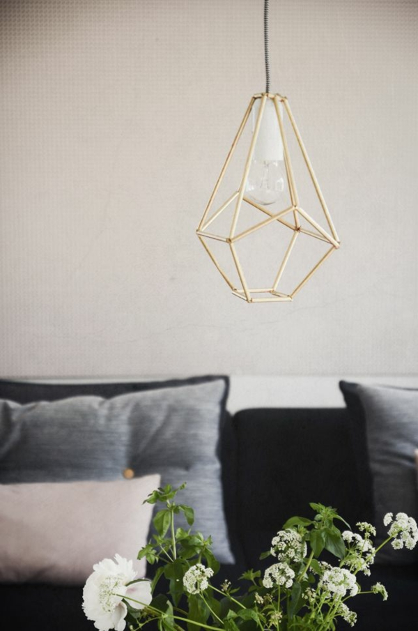 moderne Wohnzimmer lampen Designs geometrisch