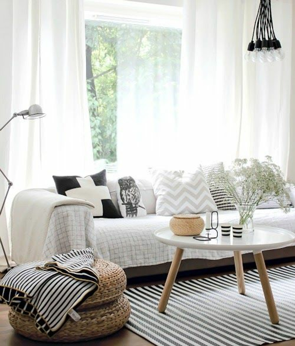 moderne Wohnzimmerlampen Designs teppich streifen